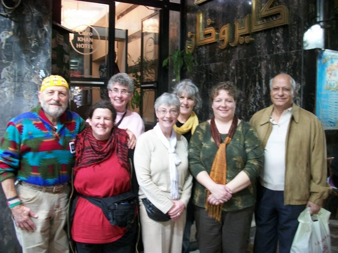 Yusif, Sheri, Liz, Dorothy, Kim, Bella & Ahmed